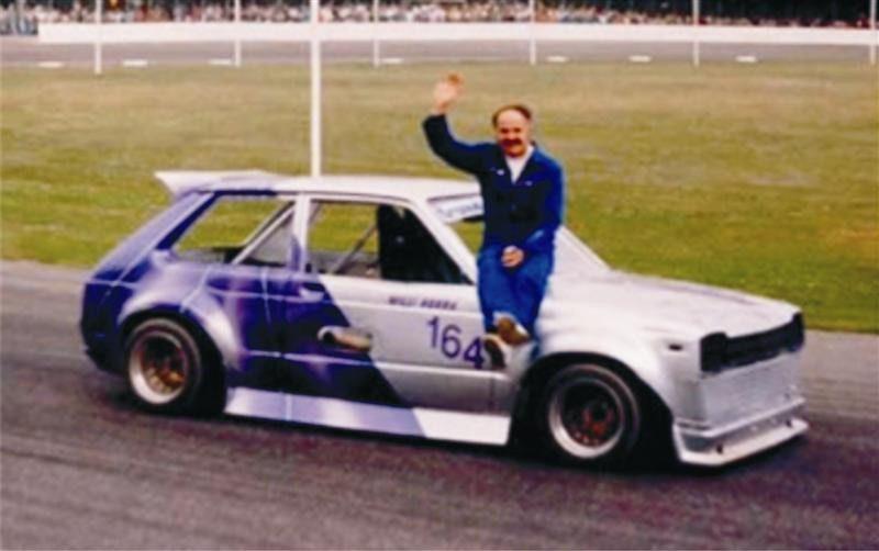 Willi Norra auf Toyota Starlet mit Brauneiser Motor