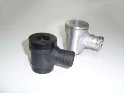 Wasseranschluss Weslake V6